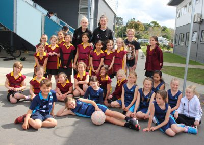 Stella Maris Students Meet the Silver Ferns_1