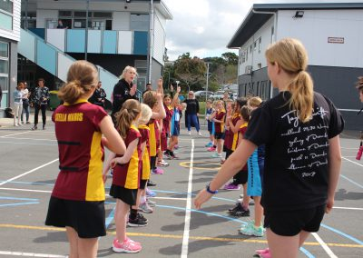 Stella Maris Students Meet the Silver Ferns_4