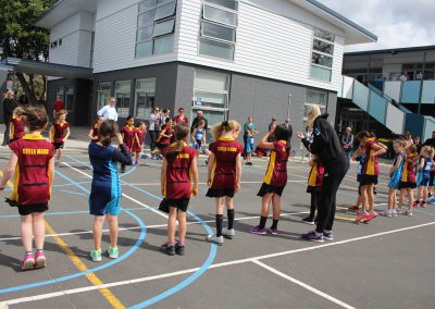 Stella Maris Students Meet the Silver Ferns_5