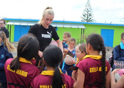 Stella Maris Students Meet the Silver Ferns_8